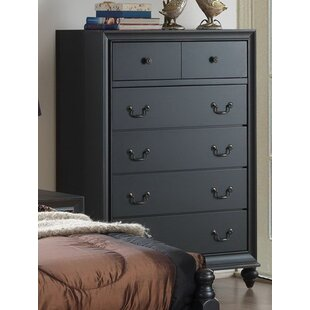 Charlton Home Jimmy 5 Drawer Chest