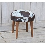 Stanek Solid Wood Accent Stool by Millwood Pines