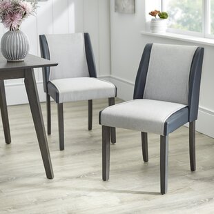 Beckley Upholstered Dining Chair (Set of 2) George Oliver