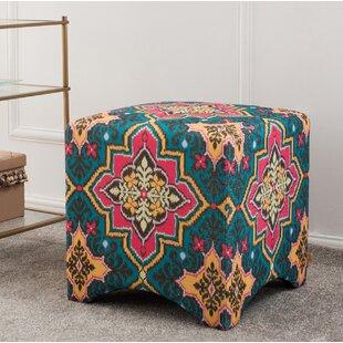 Bungalow Rose Pineda Cube Ottoman
