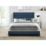 competitive price 47c80 332ed Royal Blue Upholstered Bed | Wayfair