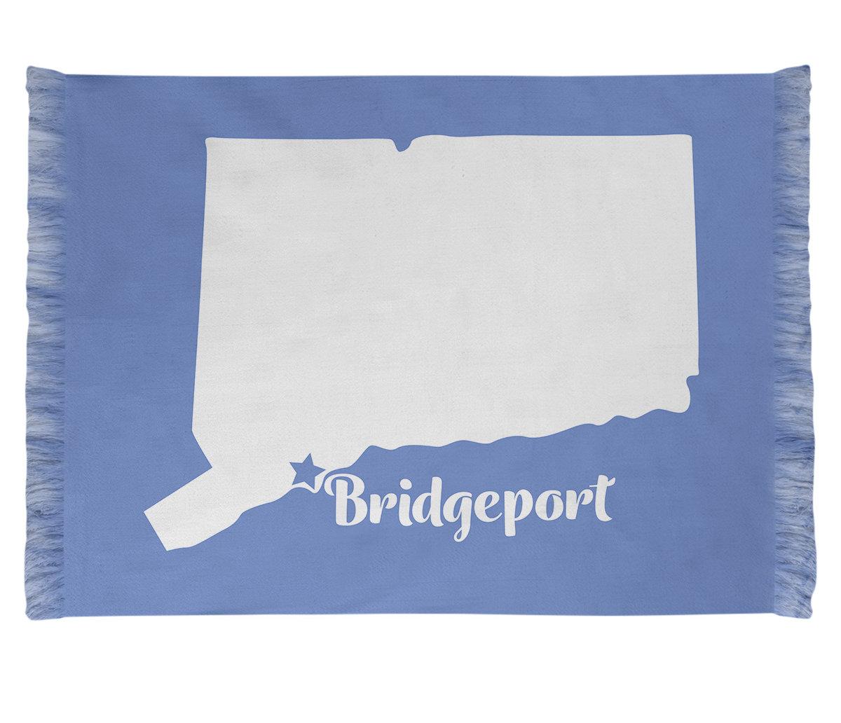 East Urban Home Bridgeport Connecticut Blue Area Rug Wayfair