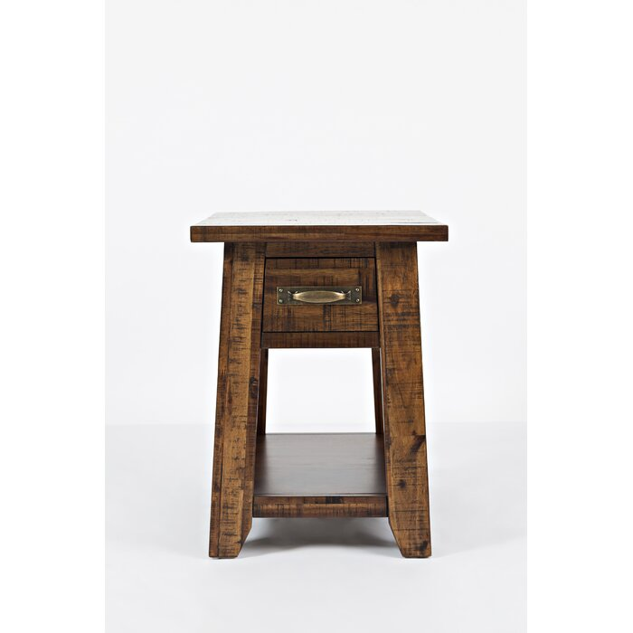 Surprising Athol End Table With Storage Andrewgaddart Wooden Chair Designs For Living Room Andrewgaddartcom