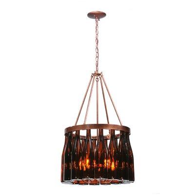 Tuscan Vineyard Estate 5-Light Chandelier Meyda Tiffany