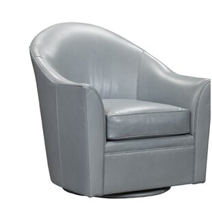 Jarrett Bay Home Swivel Armchair by Leathercraft