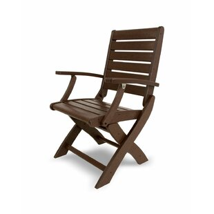 Signature Folding Patio Dining Chair