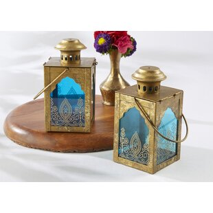 Kate Aspen Indian Jewel Lantern (Set of 6)