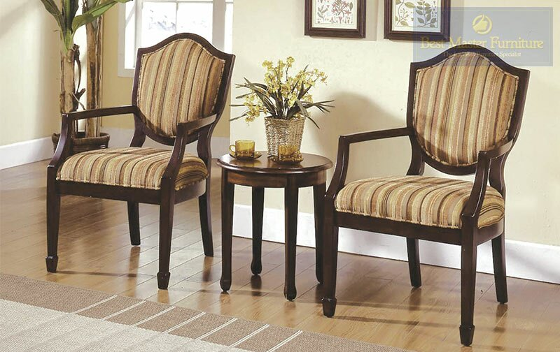 Bay Isle Home Sargentville 3 Pieces Living Room Armchair Set ...