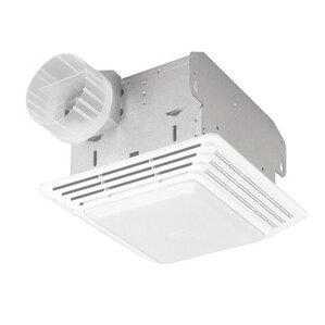 50 CFM Bathroom Fan with Light  sc 1 st  Wayfair & Bathroom Fans Youu0027ll Love | Wayfair azcodes.com