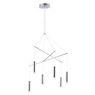 Sepviva 6-Light LED Pendant by Orren Ellis