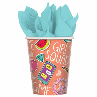 Selfie Celebration Paper Disposable Every Day Cup (Set of 48)