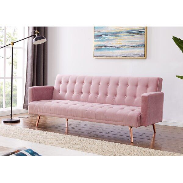 Navy Velvet Sofa Wayfair Co Uk
