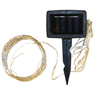 Solar 100-Light Fairy String Light