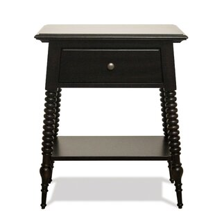Jocelynn 1 Drawer Nightstand by Bloomsbury Market Best #1