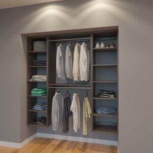Best Price Coronado 72 W Organizer Closet System (Set of 3) By Rebrilliant