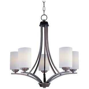 Darby Home Co Bainsby 5-Light Shaded Chandelier