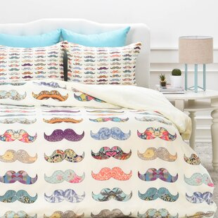 East Urban Home Mustache M..