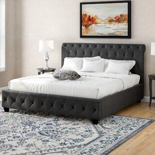 Charlton Home Richardson Upholstered Panel Bed