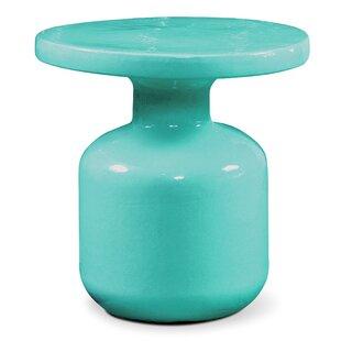 Bottle Ceramic Side Table By Seasonal Living