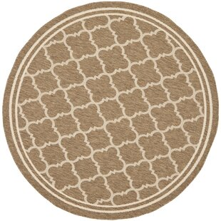 Herefordshire Brown/Bone Indoor/Outdoor Area Rug by Winston Porter