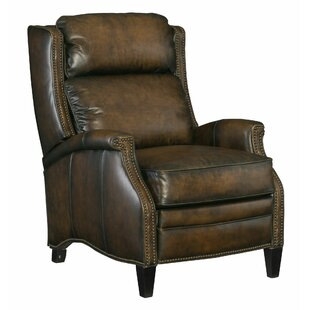Connery Leather Manual Recliner by Bernhardt