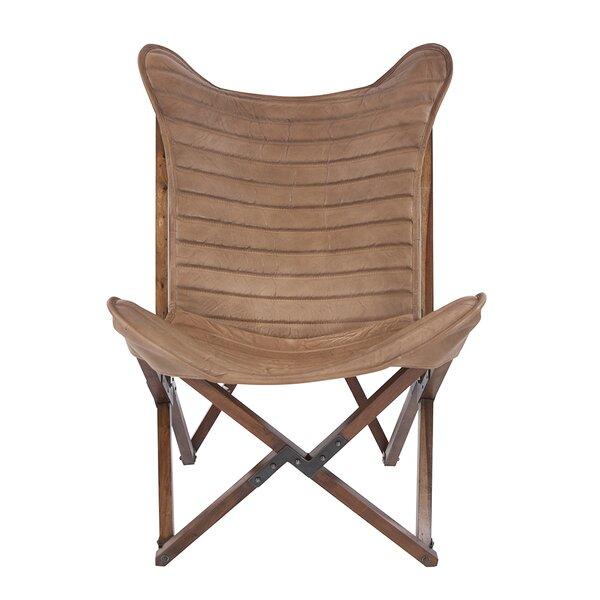 Wondrous Indoor Leather Sling Chair Wayfair Cjindustries Chair Design For Home Cjindustriesco
