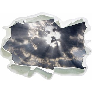 The Face Of Jesus In The Sky Wall Sticker By East Urban Home