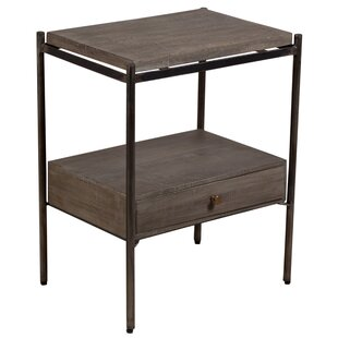 Gracie Oaks Marrone End Table