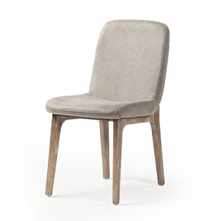 Dishon Upholstered Dining Chair by George Oliver New Design