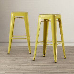 Louisa 30.5 Bar Stool (Set of 2) Zipcode Design