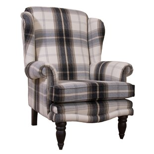 Clarkfield Wingback Chair By Astoria Grand