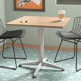 Workwell Square Pedestal Table by OlioDesigns