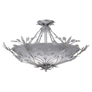 Shadwell 6-Light Semi Flush Mount by Astoria Grand