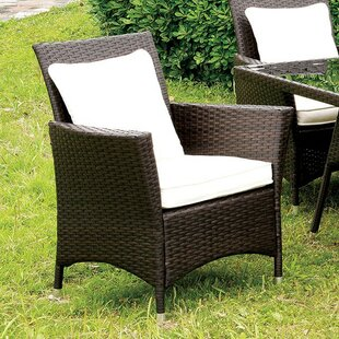 Mclain Patio Dining Chair with Cushion