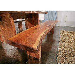 Freeform Wood Bench By Massivmoebel24