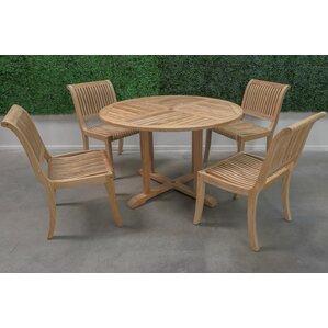 Charming 5 Piece Dining Set. 5 Piece Dining Set. By HiTeak Furniture