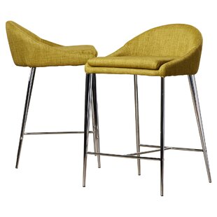 Compare & Buy Angela 24.4 Bar Stool (Set of 2) by Langley Street Reviews (2019) & Buyer's Guide
