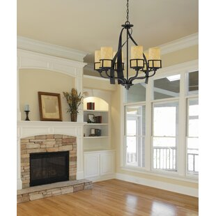 Colby 9-Light Shaded Chandelier by Loon Peak