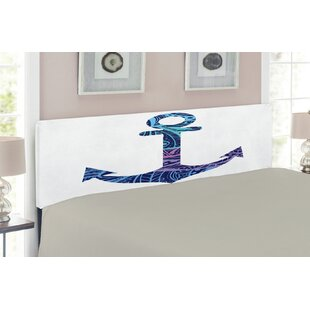 Anchor Upholstered Panel Headboard by East Urban Home