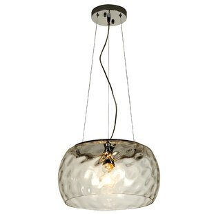 Highland Dunes Caston 1 Light Globe Pendant