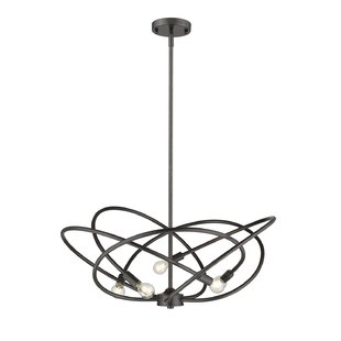 Carrasco 5-Light Geometric Pendant by Orren Ellis