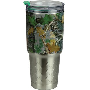Wantaugh Camo 32 oz. Stainless Steel Travel Tumbler