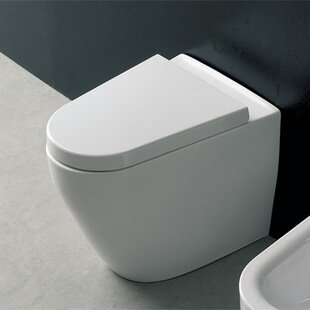 Scarabeo by Nameeks Tizi Floor Mounted 1.3 GPF Elongated Toilet Bowl