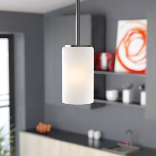 Raine 9W 1-Light Cylinder Pendant by Wade Logan