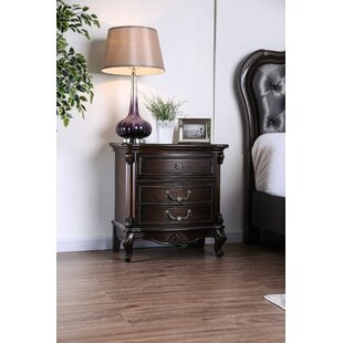 Gottlieb 2 Drawer Nightstand