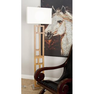 Compare & Buy Wood and Stainless Steel 62 Floor Lamp By Cole & Grey