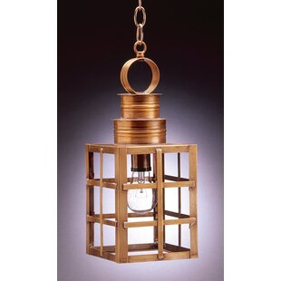 Northeast Lantern Suffolk 1-Light Outdoor Hanging Lantern