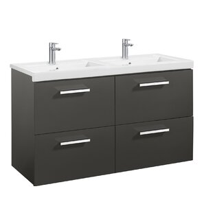 Prisma 118cm Wall Mounted Vanity Unit Base By Roca