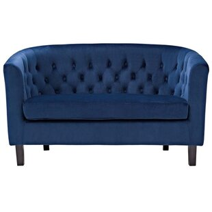 Holderman Chesterfield Loveseat by Zipcode Design