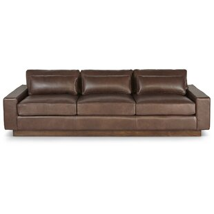 Reviews Corrine Leather Sofa by Foundry Select Reviews (2019) & Buyer's Guide